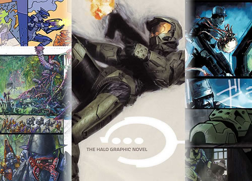 The Halo Graphic Novel (by Marvel & Bungie Studio)