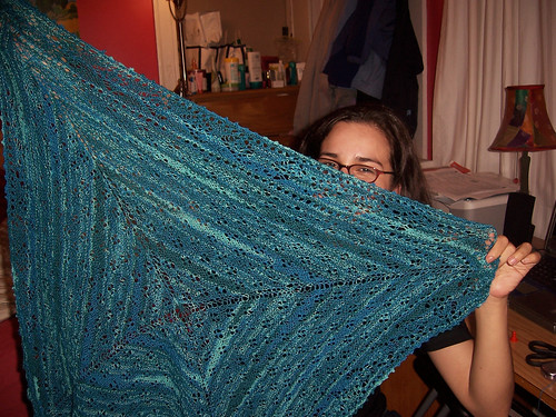 The Shawl, She is Complete!