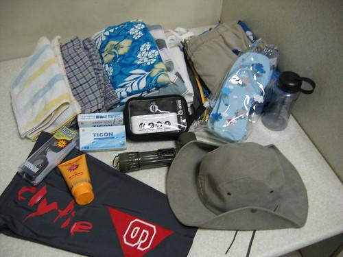 峇里島行程準備