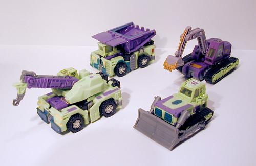 Transformers Universe G1 Redeco Constructicons