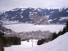 gondola route on Schmittenhöhe