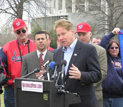 Politicians (and a few partisans) protest MASN-Comcast  District of Baseball.jp