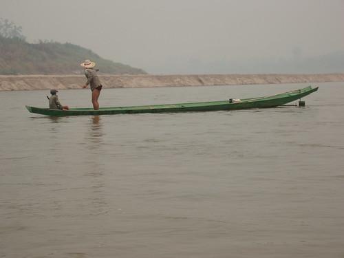Mee Kong River Fisherman