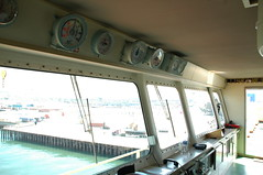 Dashboard gauges above windows