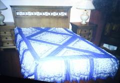 tülbentten yatak örtüsü