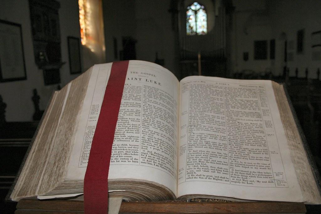 St Fabian & St Sebastian Woodbastwick - Bible
