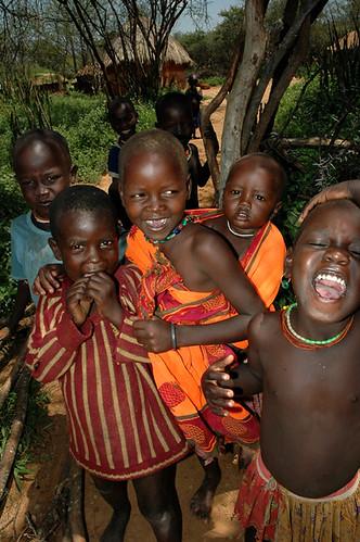 Children in the villiage