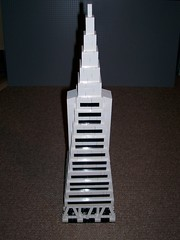 TransAmerica Pyramid in LEGO