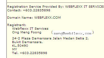 Webflexx Registration