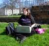 Sunny Edinburgh and the geeky scholar