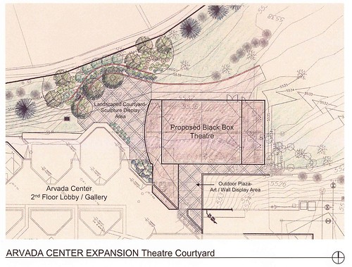 Illustrated Scan of Arvada Center expansion