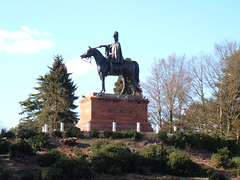 Statue of Wellington in Aldershot