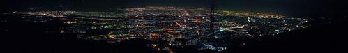 Tehran Night Panorama