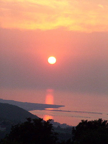 Sunset on Yalova, Türkiye
