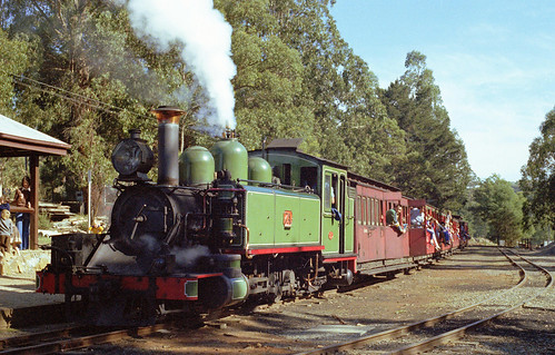 Puffing Billy line