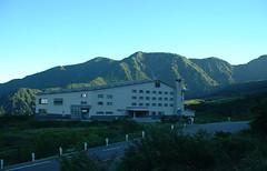 弥陀ヶ原ホテルと大日岳