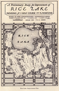 1925 Hiawatha Golf Course Plan