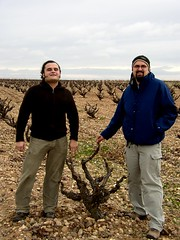 Felipe and Me in the vineyards