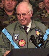 Cheney always wanted to play a soldier