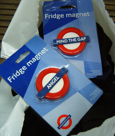 London Underground Fridge Magnets