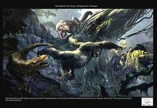 king & rexs  a la Tarzan
