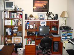 HomeOfficeEastWall-BeforeRemodel
