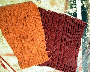 knits progress