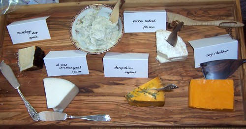 The Christmas Eve Cheese Tray