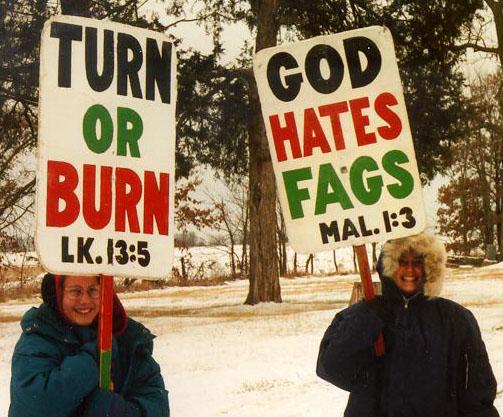 TURN OR BURN -- GOD HATES FAGS