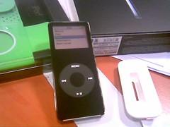 My new Ipod Nano, black flavour