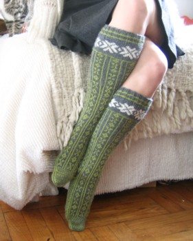 finished norwegian stockings 7