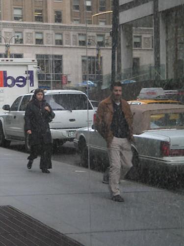 Marble Pedestrians