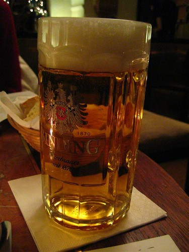 マインツでのビール