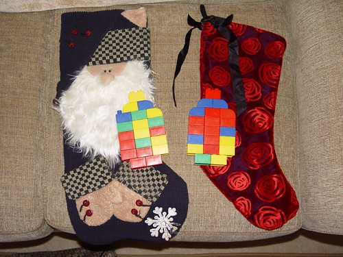 Mommy and Daddy's Stockings