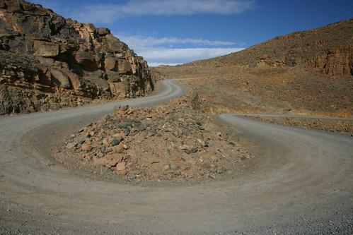 The tough, tough climb up Tizi Tirherhouzine (2700m)