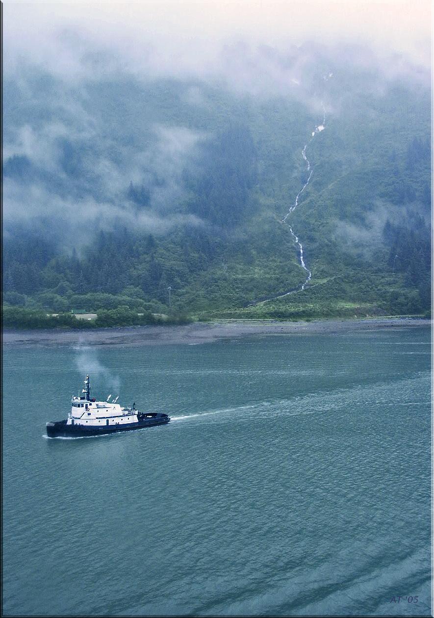 tug and falls, Alaska 2002