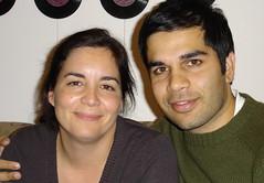 Sam Sethi (a droite)
