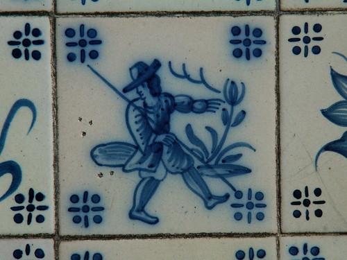 Lisboa - azulejos - Arco do Cego
