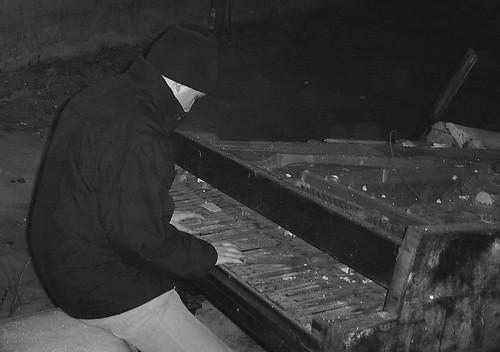 Der Pianist des Weltraumpapstes