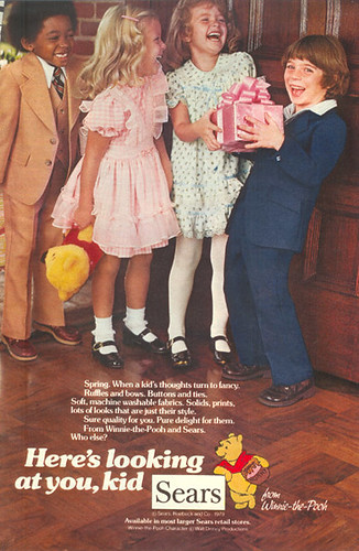 Vintage Ad #6 - Disco Duds For The Elementary School Set