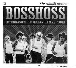 Boss Hoss-Ticket