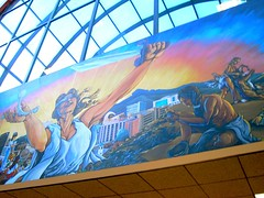 County Building Murals :: Blind Justice