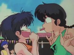 Akane y Ranma