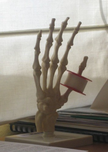 My doctor's plaster holder
