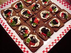 Caviar Appetizer Platter