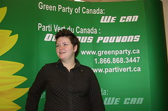 Photo of Juliet Burgess, Green Party candidate.