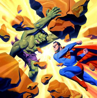 Hulk vs Supes