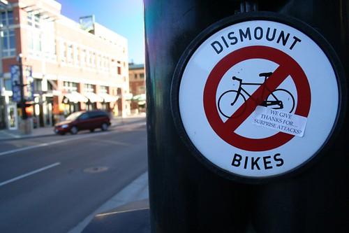 Dismount Bikes