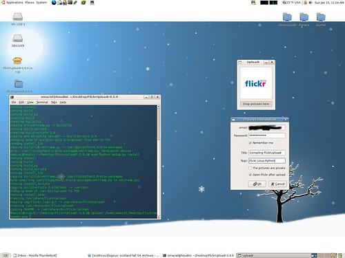 Configuring o FlickrUploadr