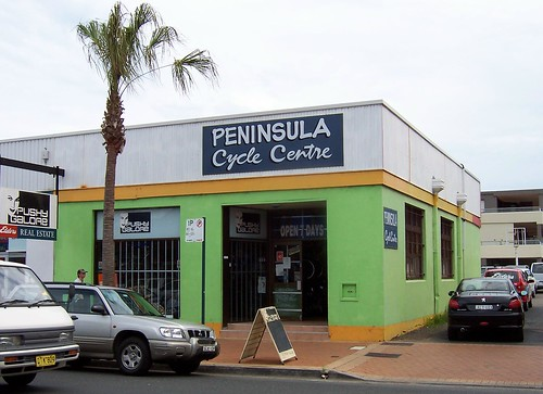 The former bank building on West Street, Umina.